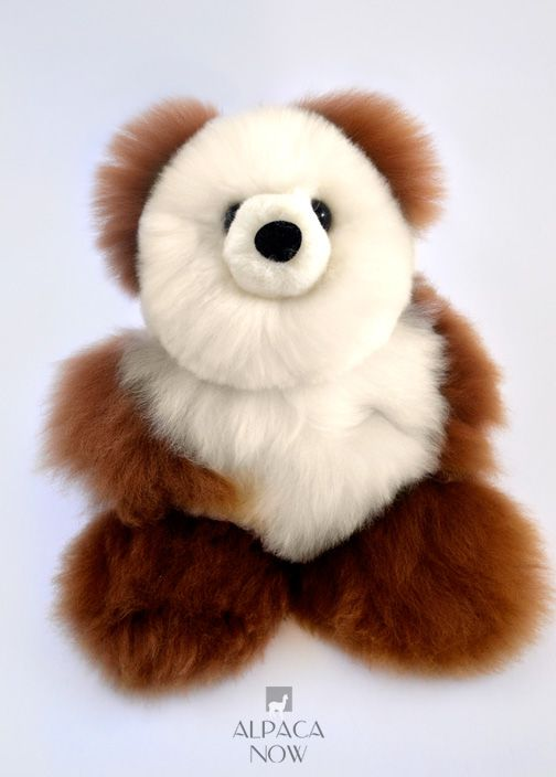 BABY Alpaca Fur-Teddy Bear 15""
