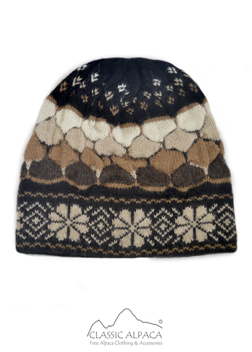Preview Natura Alpaca Knit Hat - Fleece Lining
